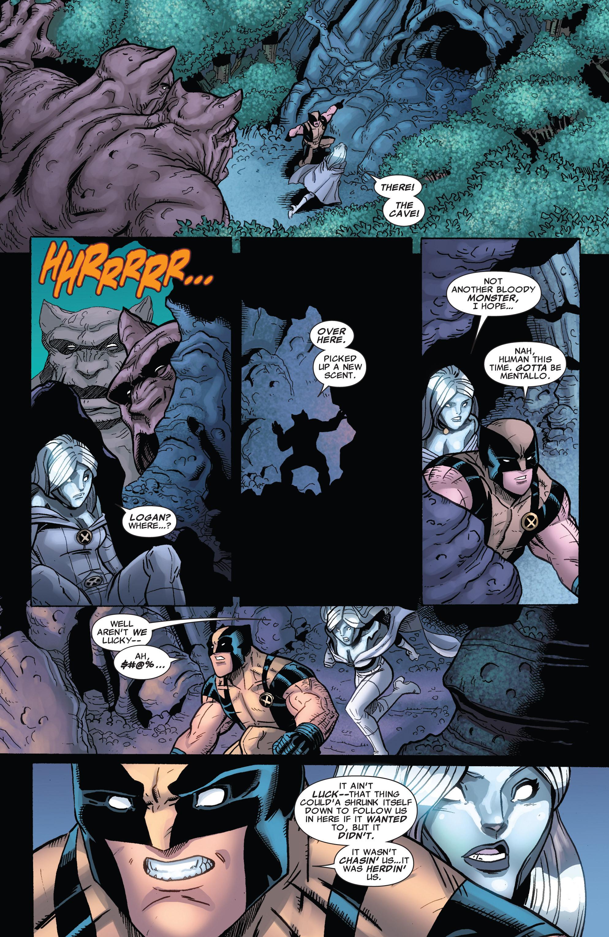 Read online Astonishing X-Men (2004) comic -  Issue #39 - 22