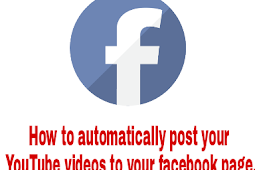 How to automatically post your YouTube videos to your facebook page