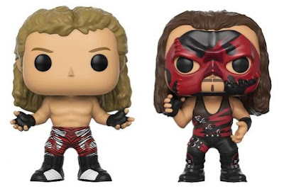 Walgreens Exclusive WWE Shawn Michaels & Kane Pop! Vinyl Figures by Funko