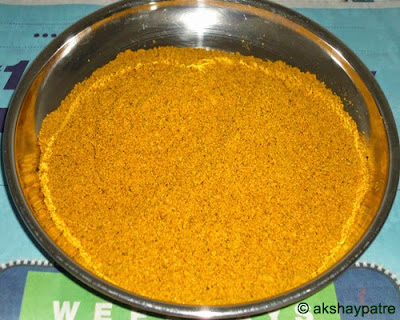 pickle powder to make green chilli pickle