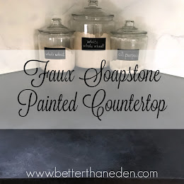 A Faux Soapstone Painted Countertop - Mary Haseltine Looks Like Soapstone Countertops on blue soapstone, barroca soapstone, countertop looks like granite,