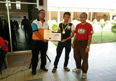 Johan Kategori Lelaki Kejohanan Catur Rapid Terbuka PSIS