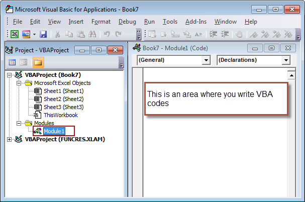 Lesson 1 : Getting Started with Excel VBA