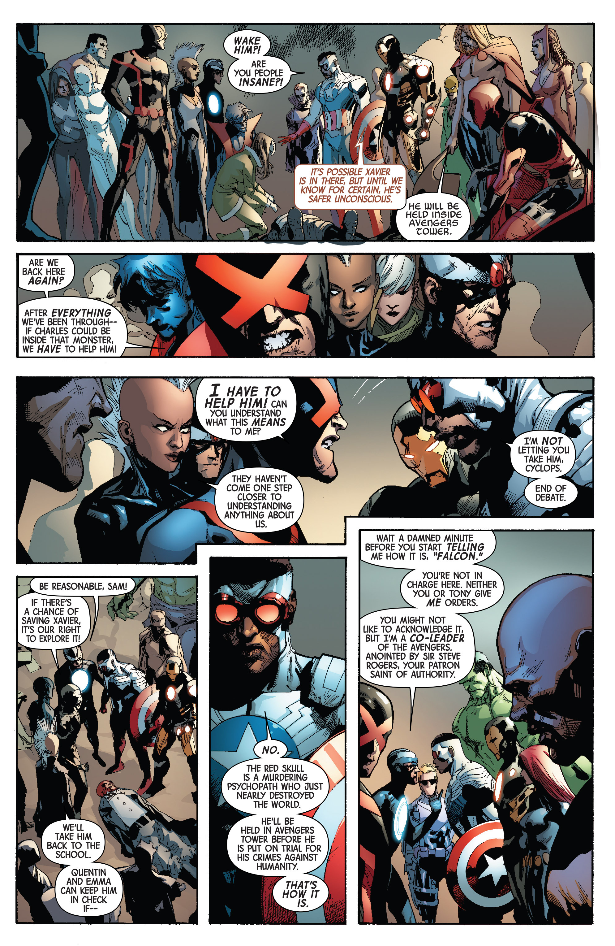 Read online Avengers & X-Men: AXIS comic -  Issue #3 - 22