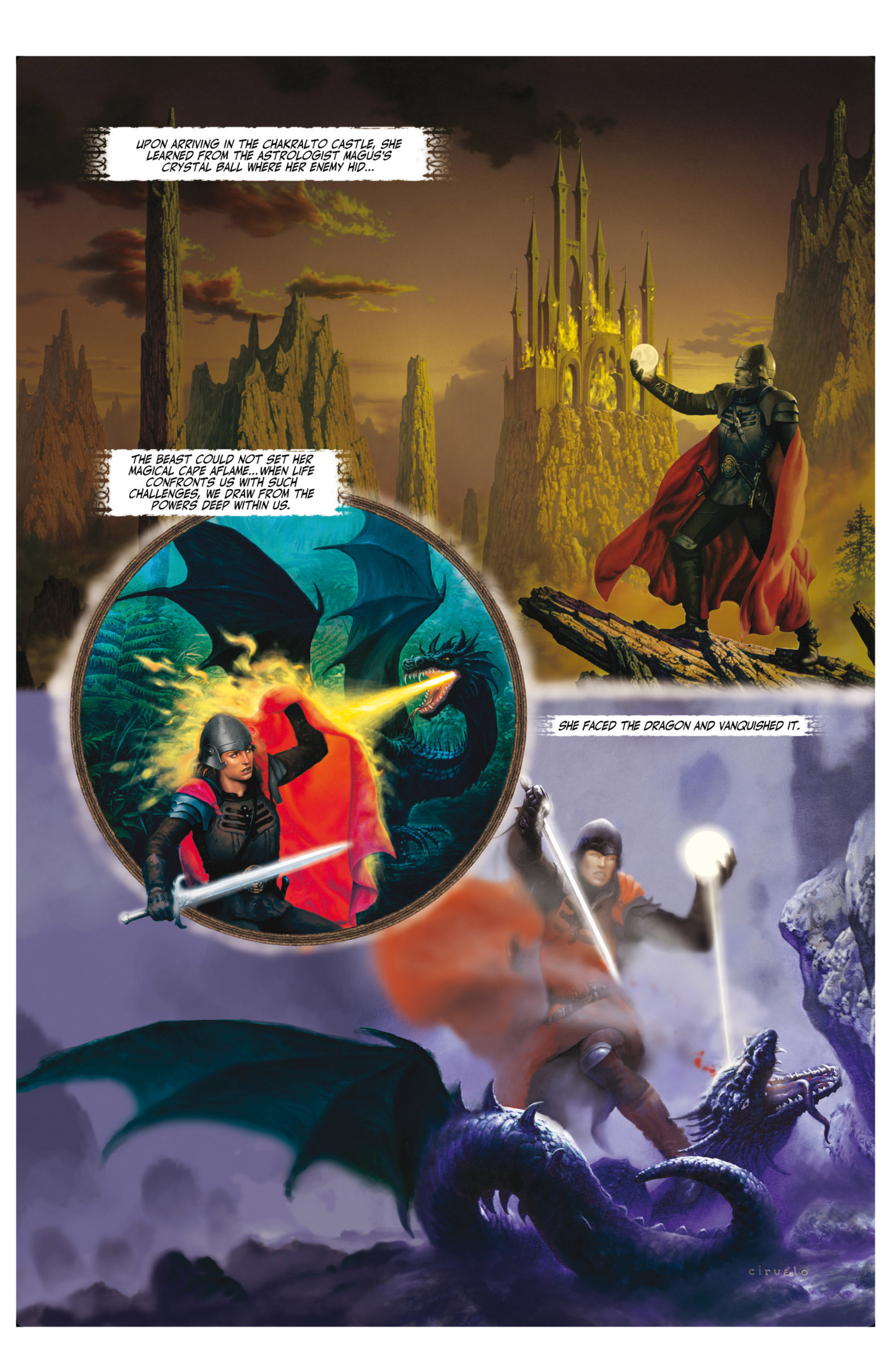 Read online Alejandro Jodorowsky's Screaming Planet comic -  Issue #2 - 48
