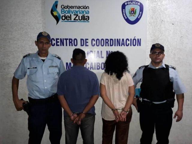 Esta pareja abusaba sexualmente de su hija de 14 anos en Maracaibo