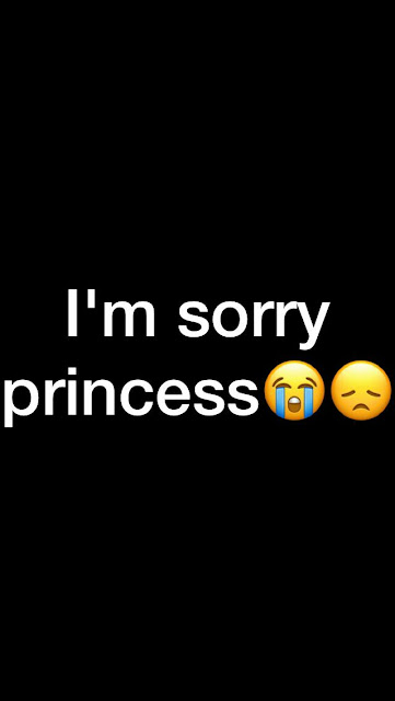 I'm sorry princess