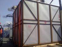 import barang cargo flat rack di jakarta 20 dan 40 ft