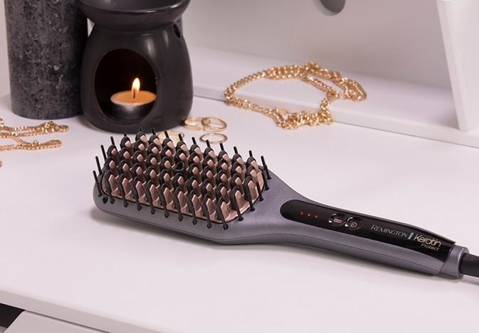 Konkurs dla Was ze szczotką prostującą Remington Keratin Protect