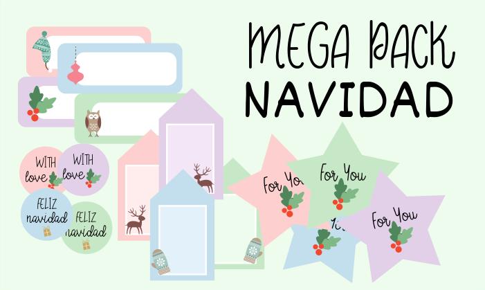 Mega Pack Imprimibles para una Navidad Perfecta