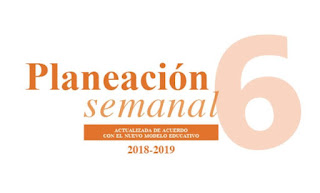 Planeación trimestral anual Sexto Grado Nuevo Modelo Educativo