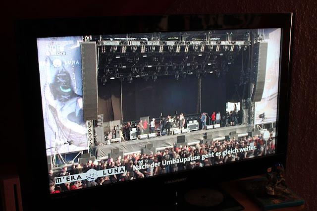 M'era Luna Live Stream auf dem Fernseher
