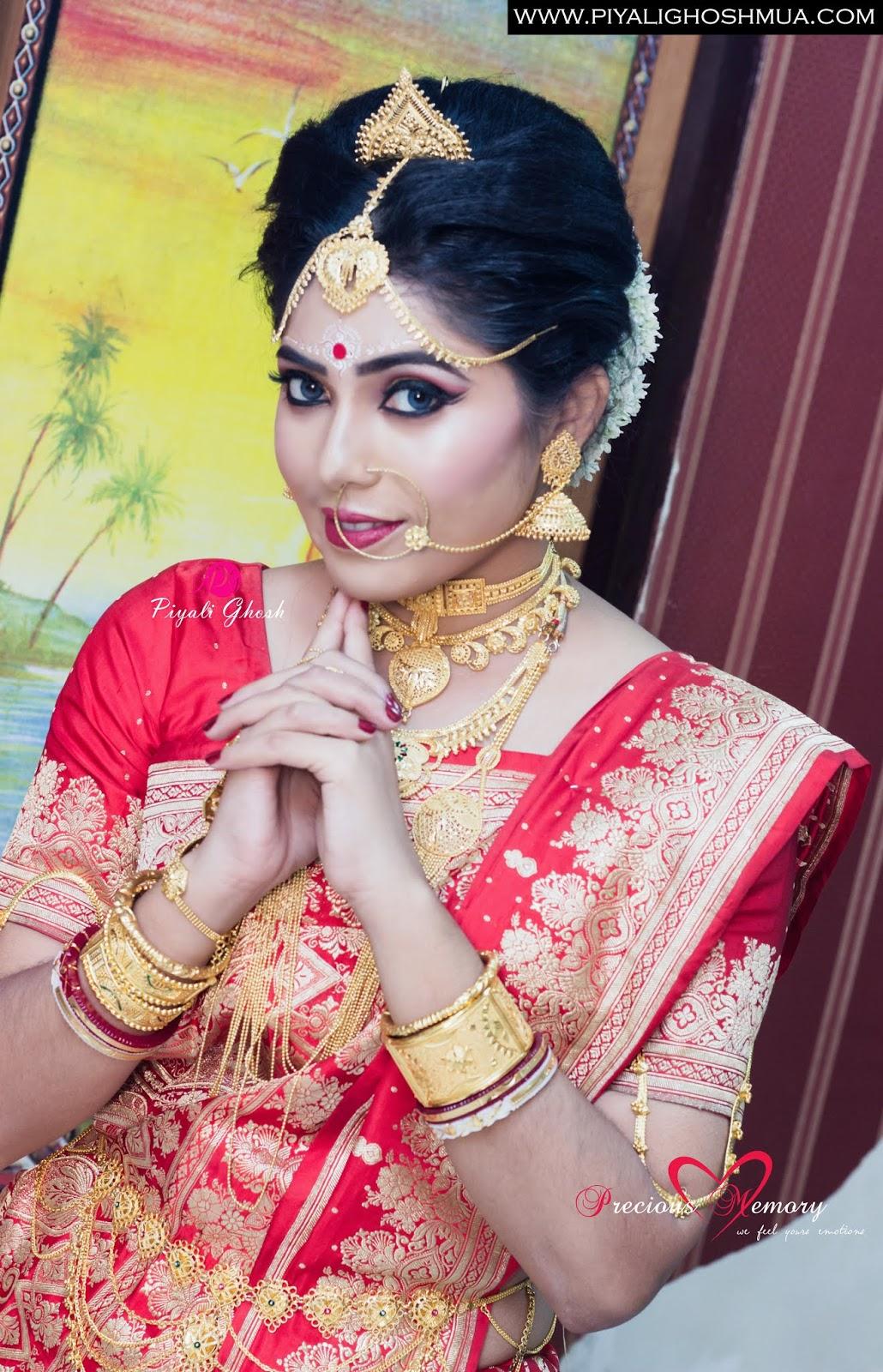 a flawless bridal makeup kolkata | piyali ghosh - best