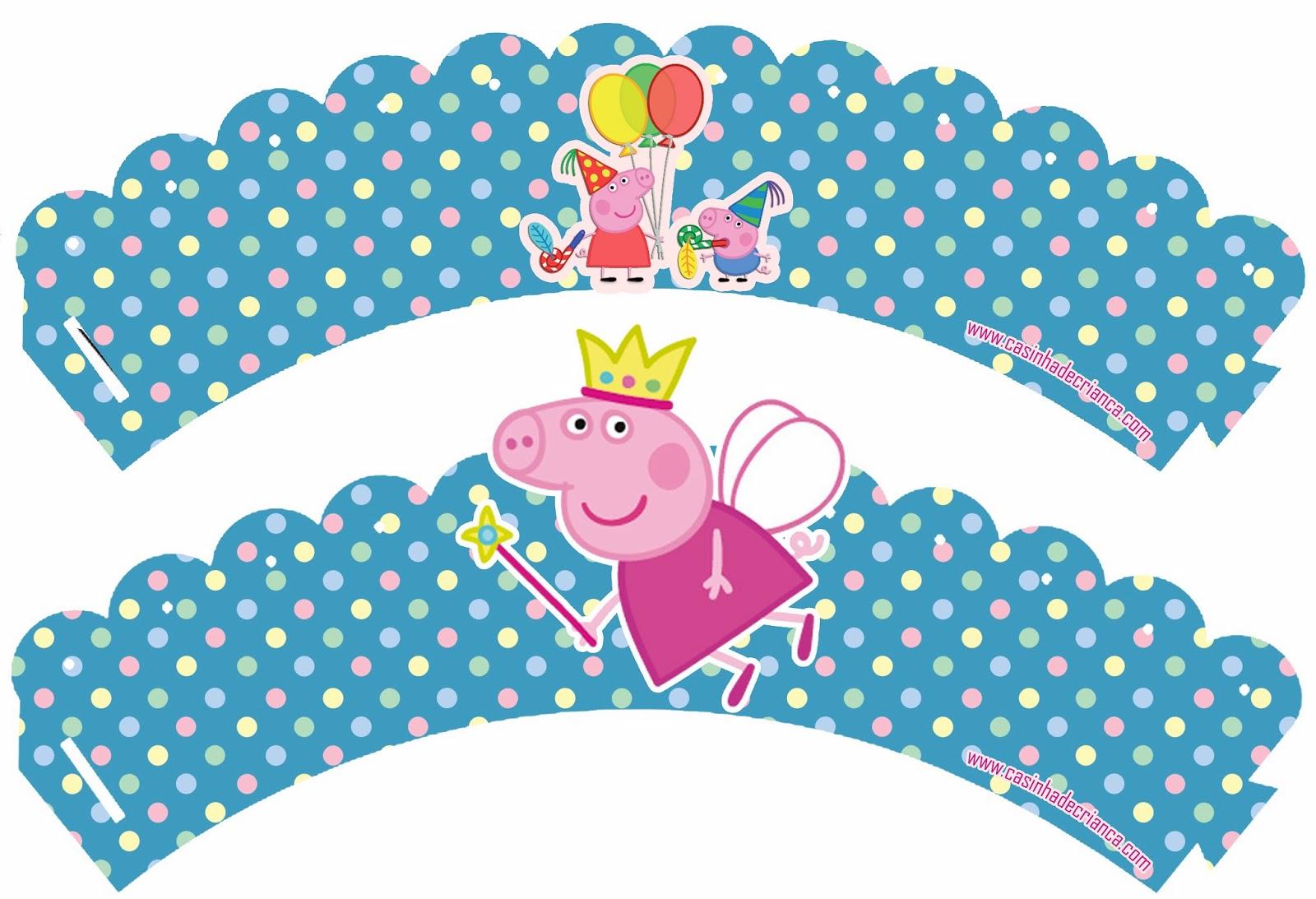 Casinha De Crianca Kit Festa Peppa Pig Para Imprimir Gratis