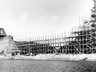 La reconstrucción de la presa Möhnetalsperre