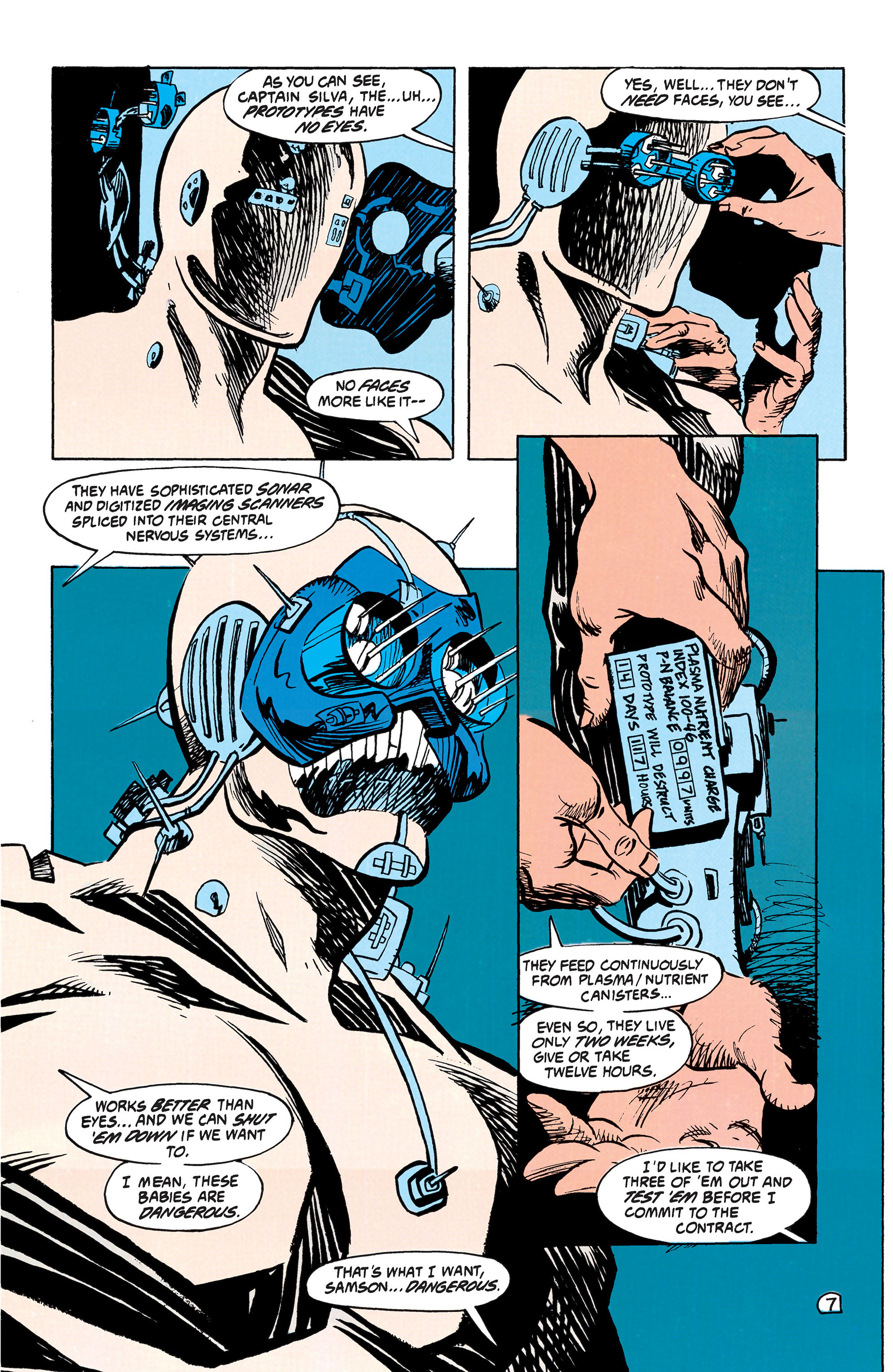 Read online Animal Man (1988) comic -  Issue #42 - 8