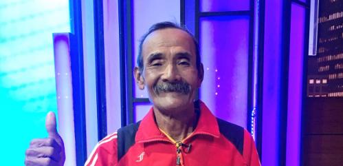Ini Dia Kakek Darmiyanto, Tukang Becak Yang Akan Ikut Lomba Lari Di Chile