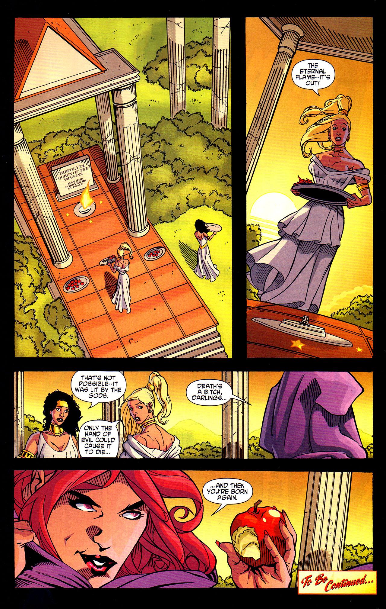 Read online Wonder Woman (2006) comic -  Issue #7 - 22