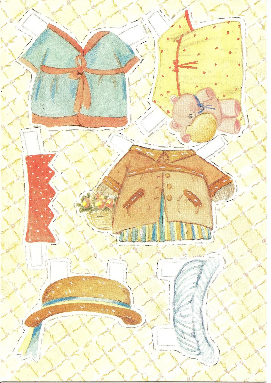 Mostly Paper Dolls: Birthday Card by Deborah Jones, 1988
