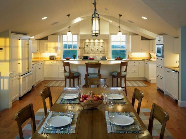 Cozy Cottage Kitchens