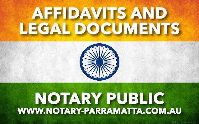 India Affidavit
