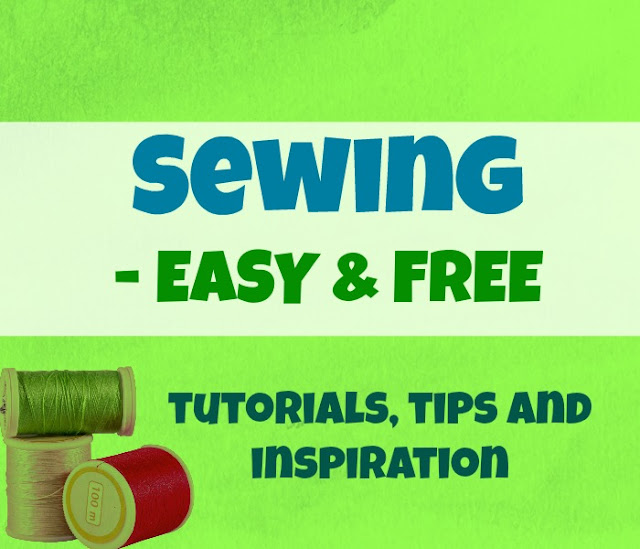 This is the place to find the best (FREE) SEWING projects, TUTORIALS and tips for hobby sewists.
