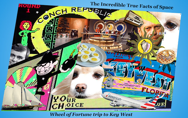 Chadcast - The incredible True Facts of Space TITFOS, key west, wheel of fortune