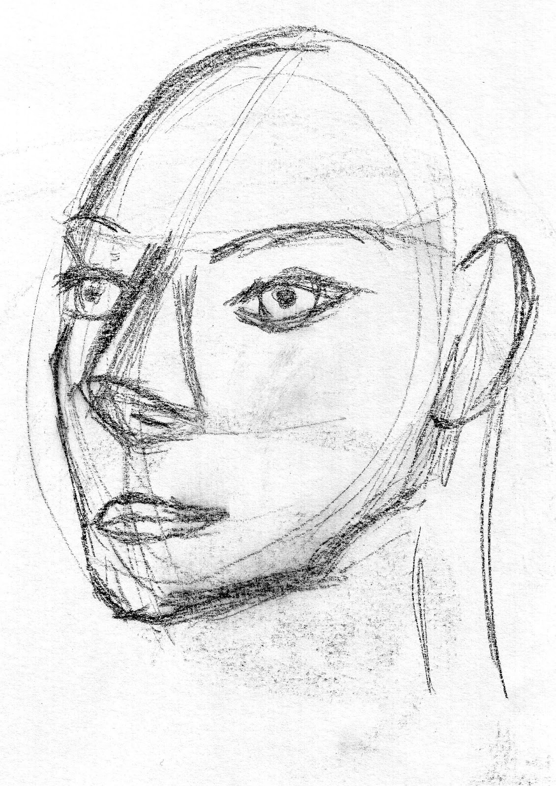 Advanced Observational Drawing Week 11 Facial Anatomy