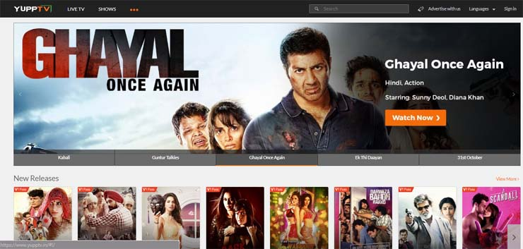 latest hindi movies online streaming