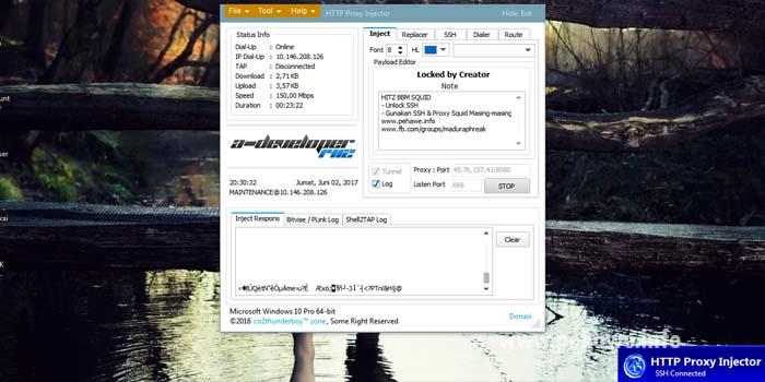 Config HTTP Injector PC (HPI) Axis Hitz Unlimited Juni Terbaru