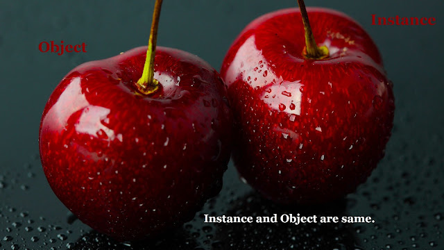 Object and Instance in Java