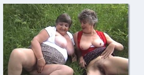 Granny Steph Porn - Lesbians grannies Libby and Steph outdoor adventure|Mature and granny porno
