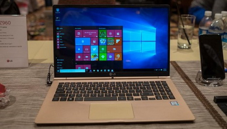 Laptop LG Gram 15 Pesaing MacBook Air