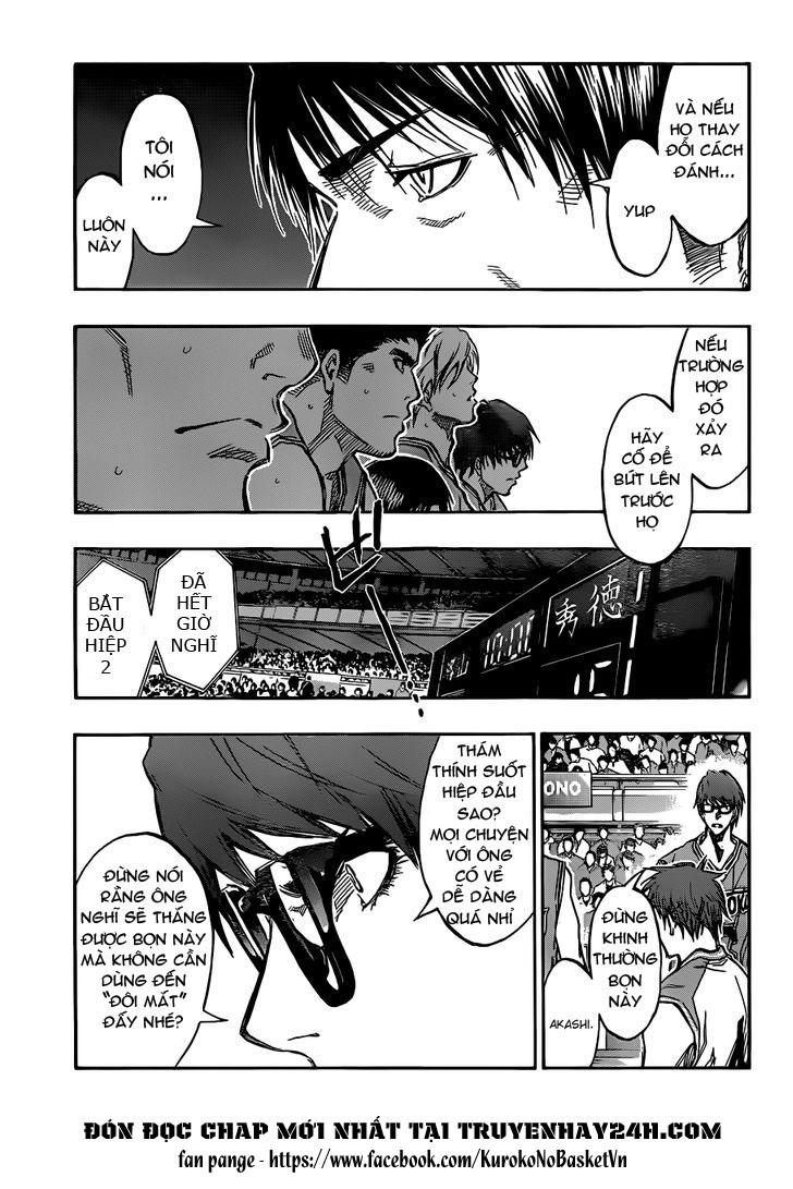 Kuroko No Basket chap 176 trang 11