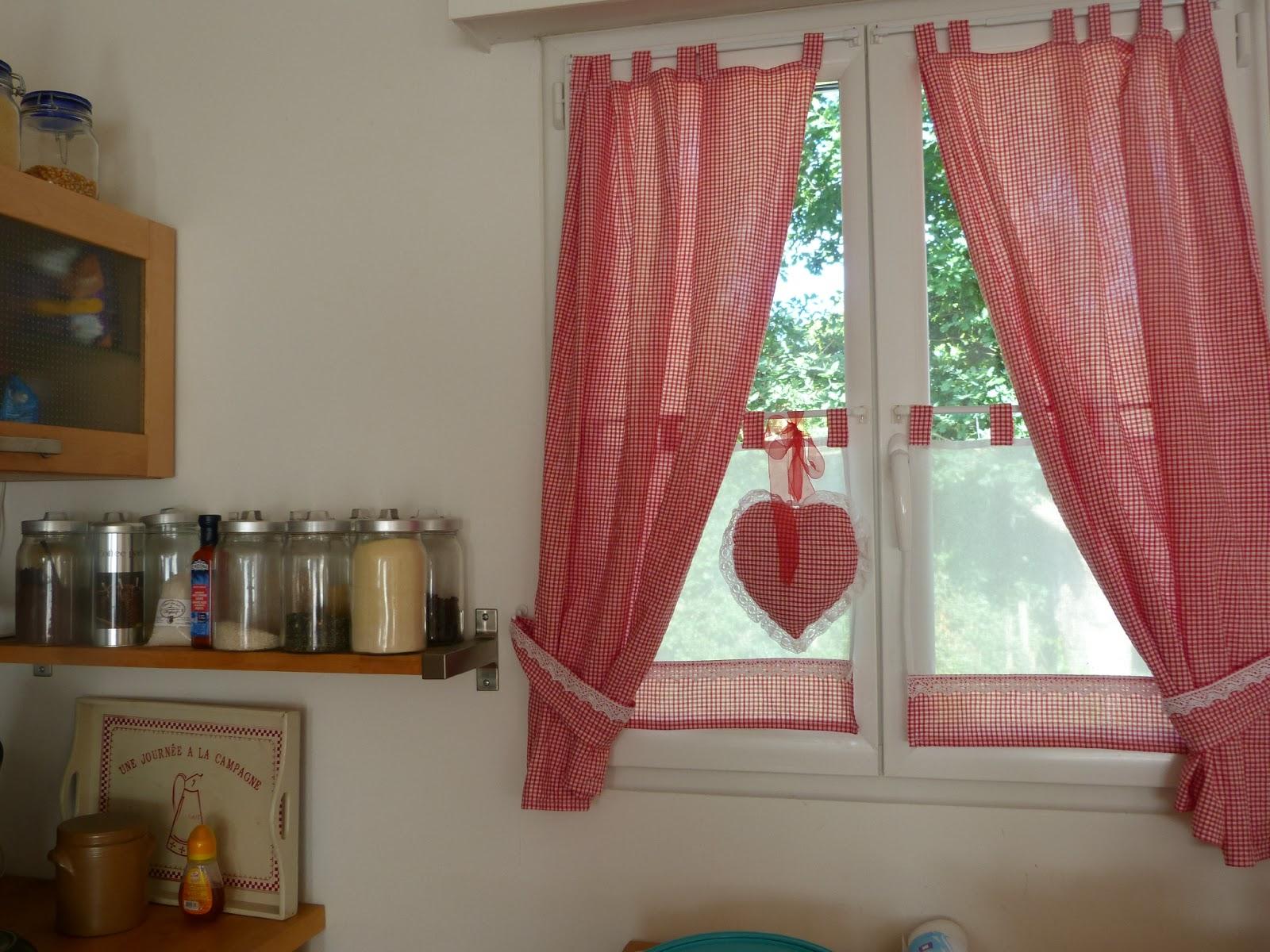 decoration cuisine rideau avec des id es int ressantes pour la conception de la. Black Bedroom Furniture Sets. Home Design Ideas