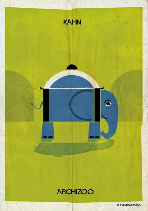 08-Louis-Kahn-Federico-Babina-Archizoo-Connection-Between-Architecture-and-Animals-www-designstack-co