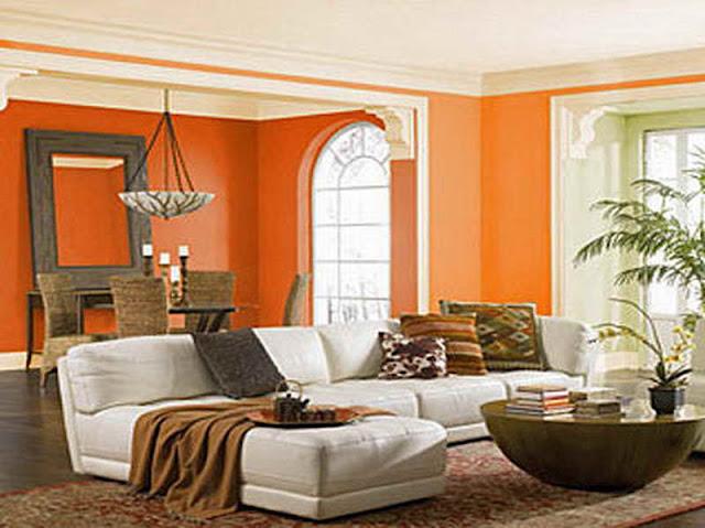 Tips Menggunakan Warna Orange Agar Rumah Lebih Segar