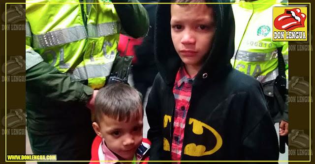 Venezolano abandonó a sus dos niños pequeños en Bogotá y se esfumó
