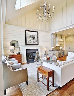 แบบบ้าน 2 ชั้น ห้องนั่งเล่นสวยๆ