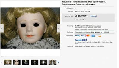Boneka Berhantu Terjual Dengan Harga Tinggi