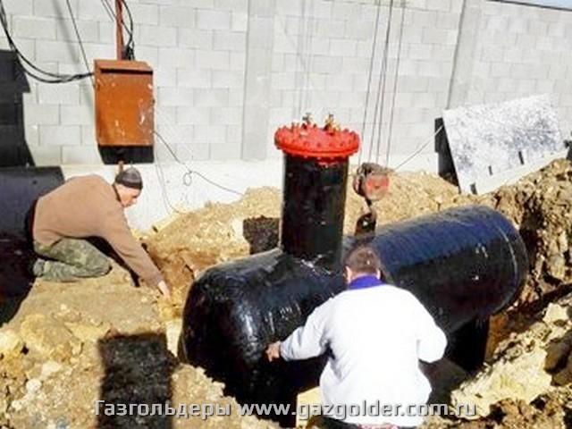 Газгольдер Севастополь
