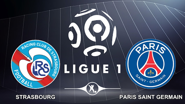 Strasbourg vs Paris Saint Germain 2 Desember 2017