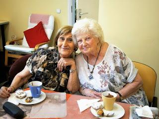 Foto de celebració de l'aniversari de la Marta