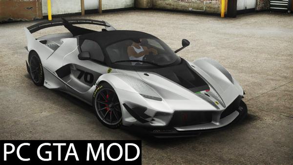 Free Download 2018 Ferrari FXX-K Evo  Mod for GTA San Andreas.