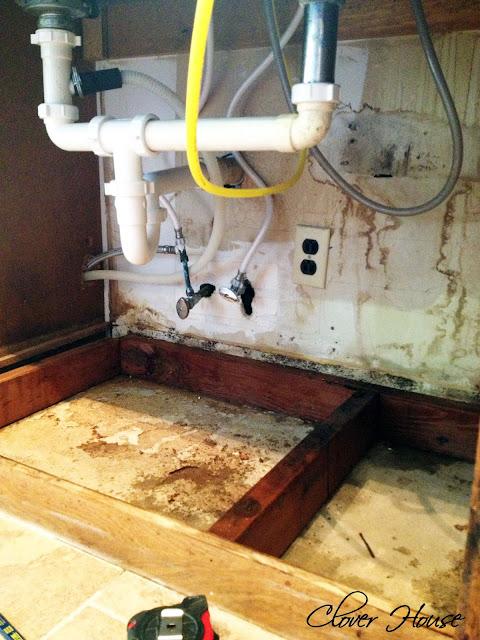 Clover House Freshening Up Under The Kitchen Sink