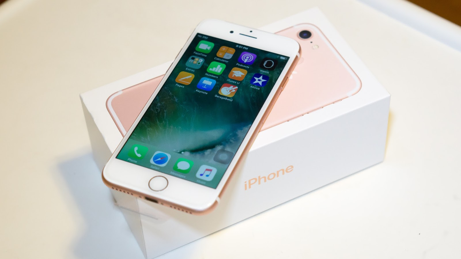 Unboxing my iPhone 7, Rose Gold with 128GB Memory Storage