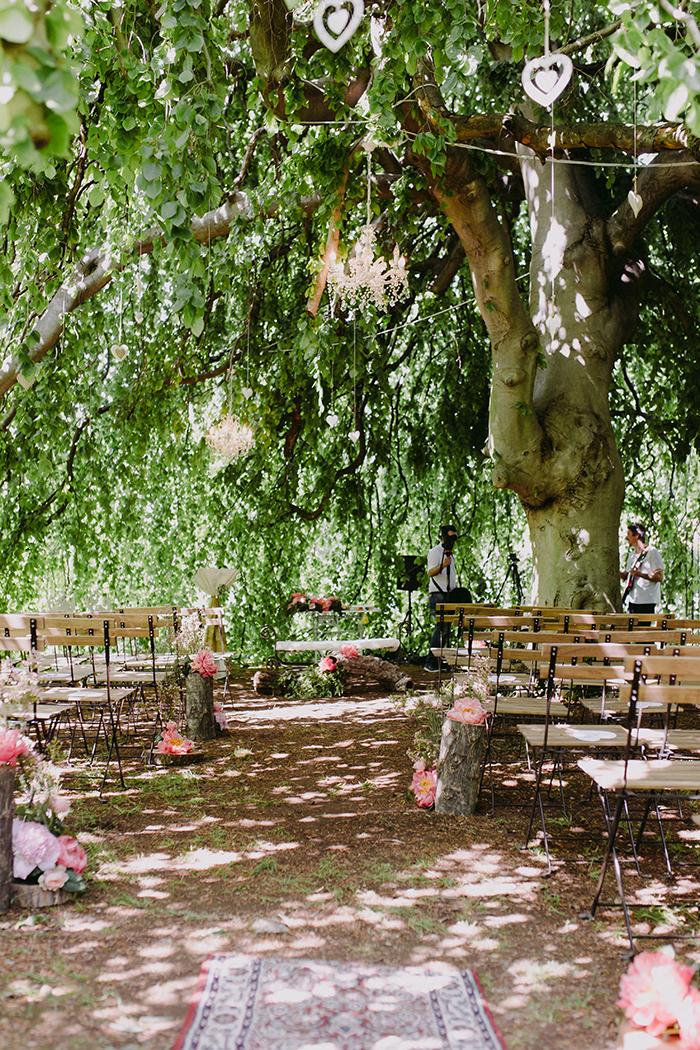 cerimonia sotto albero secolare