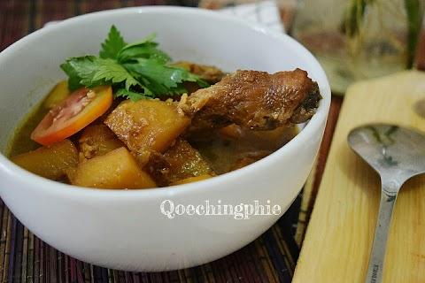 Resep dan Cara Membuat Ayam Kentang Semur Mudah