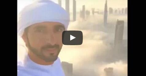 Putra Mahkota Perlihatkan Video Keindahan Gedung Di Dubai Yang Menembus Awan