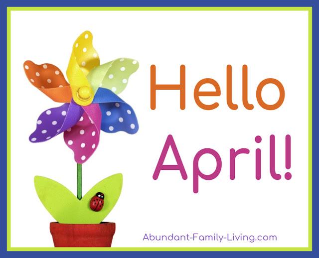 Hello April Image